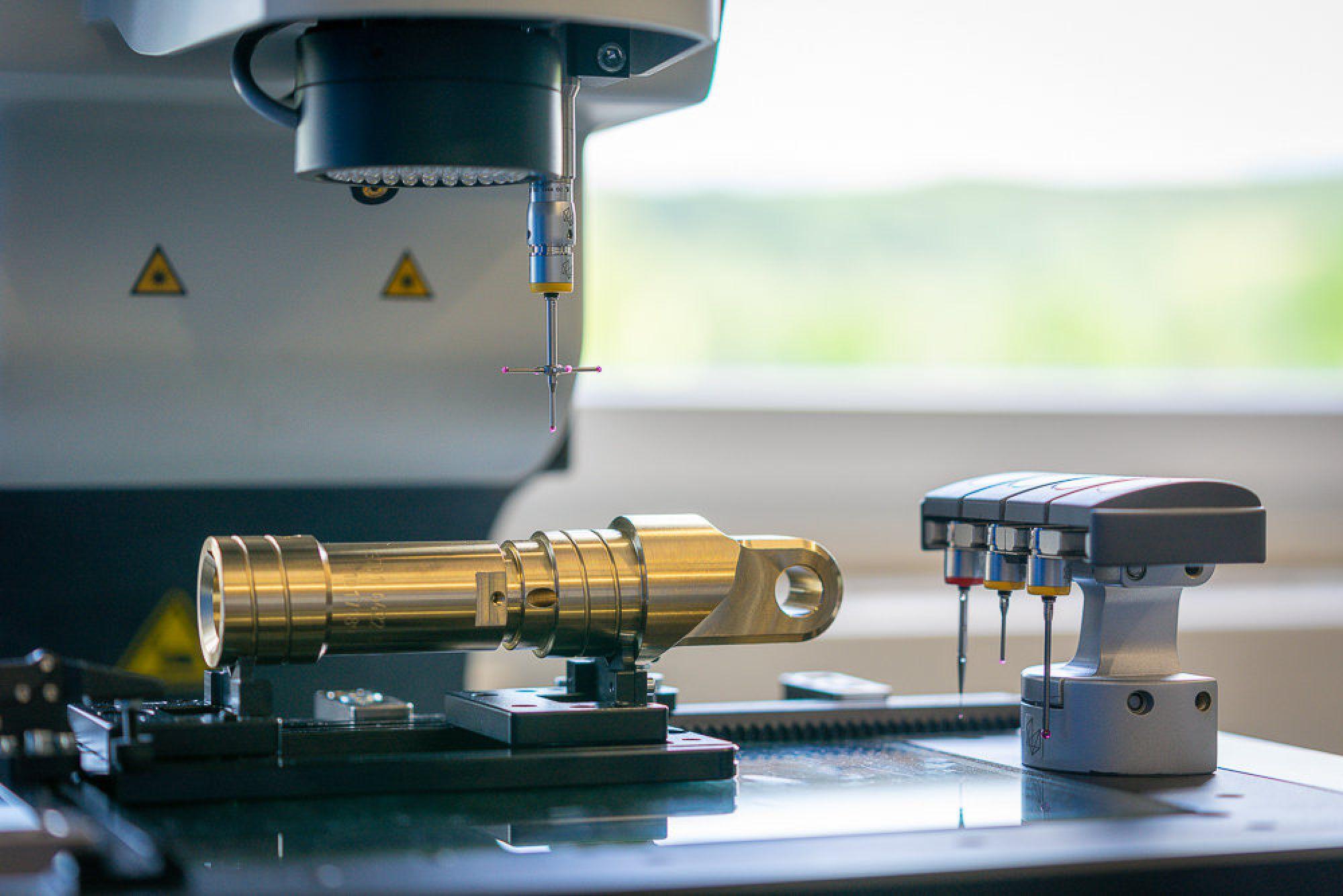 Optische und taktile Teilevermessung